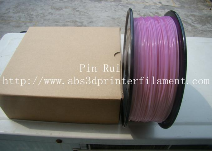 High Quality 3D Printer Filament PLA 1.75mm 3mm For White To Purple  Light change  filament