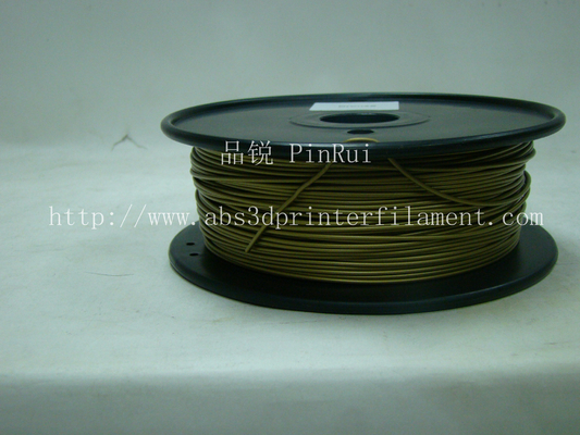 चीन Bronze 3D Printer Metal Filament Polished 1.75 Mm 3D Printer Filament आपूर्तिकर्ता