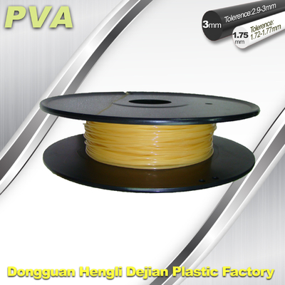 चीन Water Soluble PVA 3D Pinter Filament 1.75mm / 3.0mm Filament आपूर्तिकर्ता
