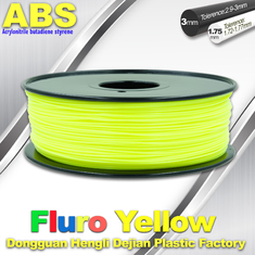 चीन Fluorescent ABS 3d Printer Filament ABS 3D Printing Material For Desktop Printer आपूर्तिकर्ता