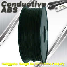 चीन Good elasticity universal ABS Conductive 3d Printer Filament in Black आपूर्तिकर्ता