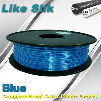 चीन Polymer Composites 3D Printer Filament Blue Easy Stripping Print Smooth आपूर्तिकर्ता