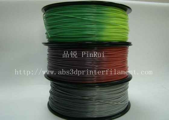 चीन ABS PLA 3d printer filament color changed with temperature for Cubify and UP आपूर्तिकर्ता