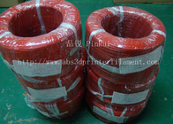 चीन Large Diameter Rigid PP Plastic Hard Tubes Red / Yellow For Electrical Wire कंपनी
