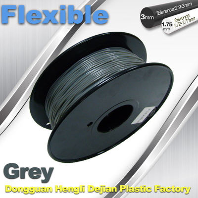 Easy To Use Odorless Flexible 3D Printing Filament , 0.8kg / Roll